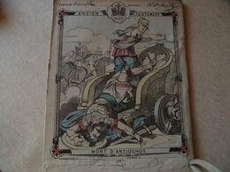 Protege Cahier, Ancien Testament, Mort D'Antiochus, Fin XIX - Book Covers
