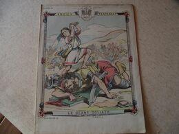 Protege Cahier, Ancien Testament, Le Géant GOLIATH, Fin XIX - Book Covers
