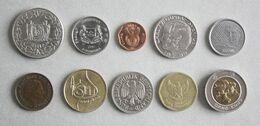 10 Monnaies Différentes - Lot N°6 - Mezclas - Monedas