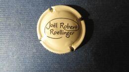 CAPSULE CHAMPAGNE JOEL ROBERT ROELLINGER . BEIGE ET MARRON - Mousseux