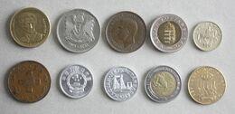10 Monnaies Différentes - Lot N°7 - Mezclas - Monedas