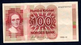 Banconota Norvegia - 100 Hundre Kroner 1988-VI - Noorwegen