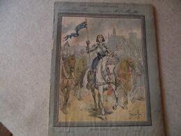 Protège Cahier, Série LES GRANDS CAPITAINES, Jeanne D'ARC, Fin XIX - Book Covers