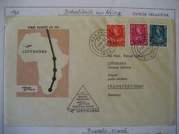 Uganda 1962- Flugpost Nairobi Nach Frankfurt/Main - Kenya, Uganda & Tanganyika