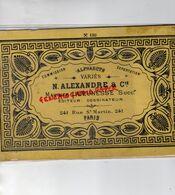 75-PARIS- ALPHABETS N. ALEXANDRE-MAURICE LAJEUNESSE EDITEUR DESSINATEUR-BRODERIE ALPHABET-241 RUE SAINT MARTIN - Other