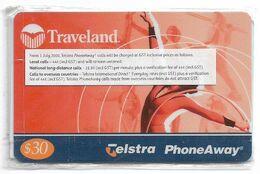 Australia - PhoneAway - Traveland Sports, Gymnastics Exp.12.2001, Remote Mem. 30$, NSB - Australie
