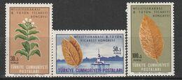 TURQUIE - N°1738/40 ** (1965) Tabac - Tabak