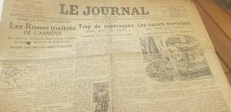 RUSSES ARMENIE /RATS MORTS PAPERASSE /CORFOU /ERZEROUM /AVIATION CORSAIRE DE L AIR - Giornali
