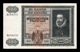 España Spain 500 Pesetas D. Juan De Austria 1940 Pick 119 Serie A MBC+/EBC VF+/XF - [ 3] 1936-1975 : Regime Di Franco