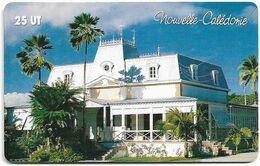 New Caledonia - OPT - Le Château Hagen, Gem1A Symmetr. Red, 2004, 25Units, 70.000ex, Used - Nouvelle-Calédonie