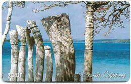 New Caledonia - OPT - Totems De L'île Des Pins, Baie De St Maurice, Gem1A Symmetr. Red, 2003, 25Units, 70.000ex, Used - Nouvelle-Calédonie
