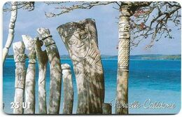 New Caledonia - OPT - Totems De L'île Des Pins, Baie De St Maurice, Gem1A Symmetr. Red, 2003, 25Units, 70.000ex, Used - New Caledonia