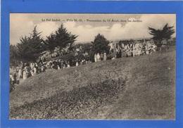 22 COTES DU NORD - LE VAL ANDRE Procession Du 15 Août, Dans Les Jardins (voir Descriptif) - Pléneuf-Val-André