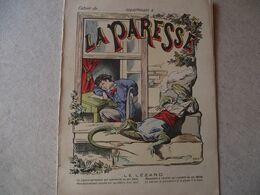 Protège Cahier,  La PARESSE, Le LEZARD,  Fin XIX - Book Covers