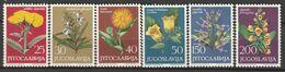 YOUGOSLOVAQUIE - N°1013/8 ** (1965) Plantes Médicinales - Plantas Medicinales