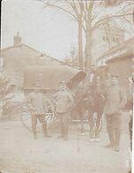 ( 08 ) - Pomacle 2 X Photo Allemande 1° Guerre - Charleville