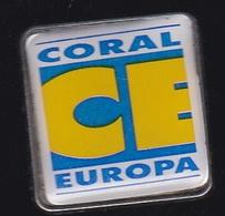 66743- Pin's.Coral Europa.Portugal.Télévision.médias. - Mass Media