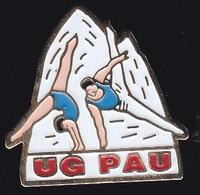 66754- Pin's. Union Gymnique Paloise.Gymnastique.Pau Béarn Pyrénées - Gymnastics