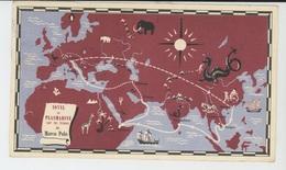 ITALIE - VENISE - Automne 1291 - SUR LES TRACES DE MARCO POLO - Carte PUB Pour PLASMARINE IONYL (beaux Timbres  ) - Venezia (Venedig)