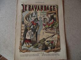 Protège Cahier,  Le BAVARDAGE, La PIE  ,  Fin XIX - Book Covers