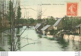 Promotion Club 2 X Cpa 18 BOURGES. Rivière La Voiselle Et Péniche Sur Canal Du Berry - Bourges
