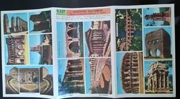 VIEUX PAPIERS - PLANCHE DOCUMENTAIRE DIDACTO PAR M. SABIN - ARCHITECTURE GALLO-ROMAINE - Picture Cards