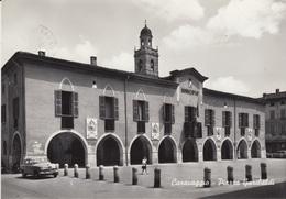 CARAVAGGIO - (BERGAMO) PIAZZA GARIBALDI - VIAGGIATA 1971 - AUTO ALFA ROMEO IN PRIMO PIANO - Bergamo