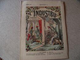 Protège Cahier,  L' INDUSTRIE , Le VERS à SOIE  ,  Fin XIX - Book Covers