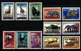 Katanga 1960 - 6/17** ( 12 Val.) MNH - Katanga