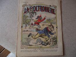 Protège Cahier,  La POLTRONERIE , Le LIEVRE  ,  Fin XIX - Book Covers