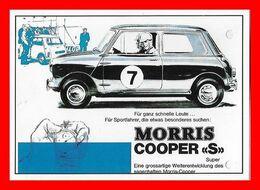 "CPSM/gf  AUTOMOBILE.  MORRIS Cooper ""S"" Super...I904 - Rallyes"