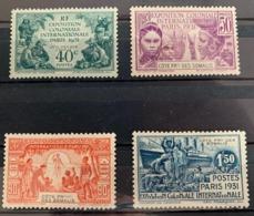 1931  Y Et T 137/40 * - Côte Française Des Somalis (1894-1967)