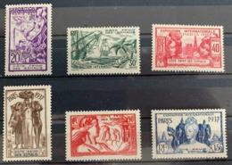 1937  Y Et T 141/6 * - Côte Française Des Somalis (1894-1967)