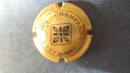 CAPSULE CHAMPAGNE LOUIS DANREMONT. Or Et Noir - Champagne