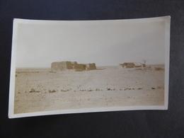 PICTURE VINTAGE [ORIGINAL PRINT] NOTE; A VILLAGE AFTER BEING RANSACKED NEAR BESAI RIDGE [NOW PAKISTAN] FEB 1931 - Non Classés