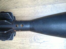 8cm  Grenade Neutralisé...  Zunden Fusee Projektil Obus III - Armes Neutralisées