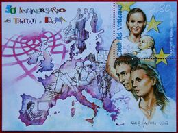 TRATTATI Di ROMA 2007 Mi 1589 Block 30 Yv BF 32 POSTFRIS / MNH / **  VATICANO VATICAN VATICAAN - Nuevos