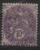 FR 1795 - FRANCE N° 233 Obl. Type Blanc - 1900-29 Blanc