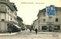 THONON Les BAINS =  Rue De Crête    1611 - Thonon-les-Bains