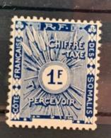 1915  Y Et T    T8 * - Côte Française Des Somalis (1894-1967)