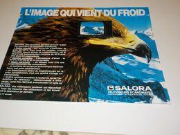 PUBLICITE IMAGE QUI VIENT DU FROID TV SALORA 1984 - Televisione