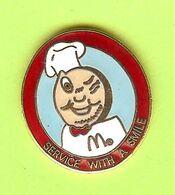 Pin's Mac Do McDonald's Speedee Service With A Smile  - 6C09 - McDonald's