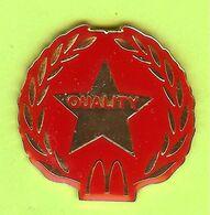 Pin's Mac Do McDonald's Étoile Quality - 6C12 - McDonald's