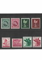339-allemagne Lot De 8 Timbres III REICH--- Neuf * - Unused Stamps
