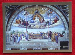 Raffaello - La Disputa Del Sacramento 2009 Mi 1651 Block 33 Yv BF 35 POSTFRIS / MNH / **  VATICANO VATICAN VATICAAN - Nuevos