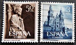 Paire Complète Y&T N° 841 Et 842 - 1931-Aujourd'hui: II. République - ....Juan Carlos I