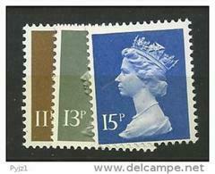 1979 MNH GB, UK, Machin, Postfris - Nuovi