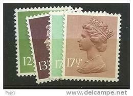 1980 MNH GB, UK, Machin, Postfris - Nuovi