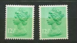 1982 MNH GB, UK, Machin, Postfris - Nuovi