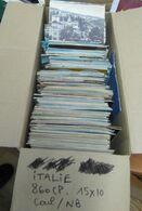 ITALIE . ITALIA . Lot De + De 860 Cartes - 500 Cartoline Min.